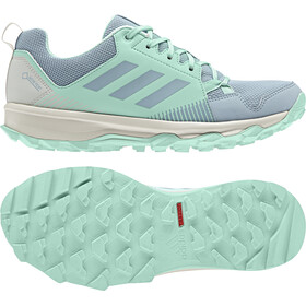 adidas TERREX TraceRocker GTX Scarpe da trail running Donna, ash grey/ash grey/clear mint